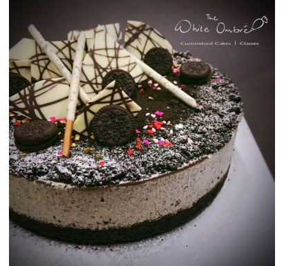 Chilled Oreo Cheesecake