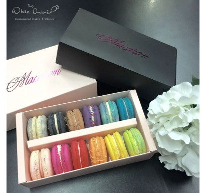 French Macarons - 12pc Box