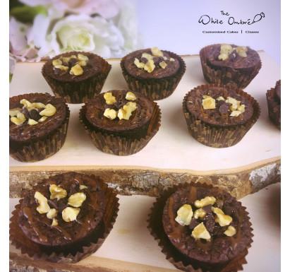 Salted Caramel Nut Brownie