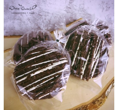 Teacher's Day Extra Large 5 Chocolate Cookie