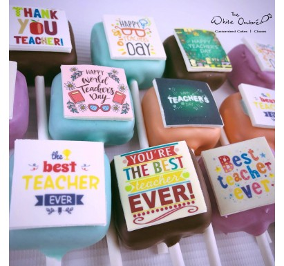 Teacher's Day Customized Cakepop