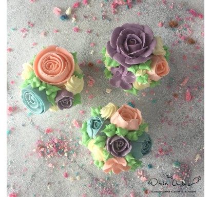 Teacher's Day Floral Cupcakes