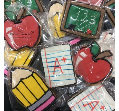 Teacher's Day Customized Cookies