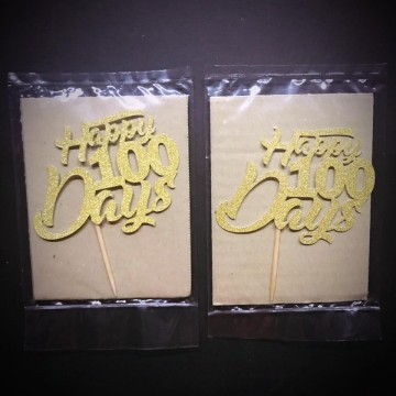 Papercraft Cake Toppers