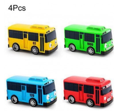 4pc Set Tayo Bus Toys