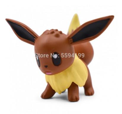 Pokemon Eevee Toy (4cm)
