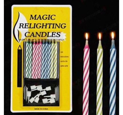Magic Relighting Candles - 10pc Pack