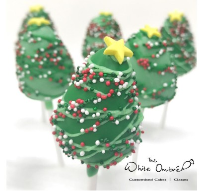 Xmas Tree Cakepops 8 December