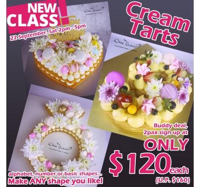 Cream Tart Class