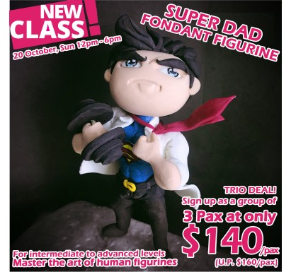 SuperDad Freehand Figurine Sculpting Class