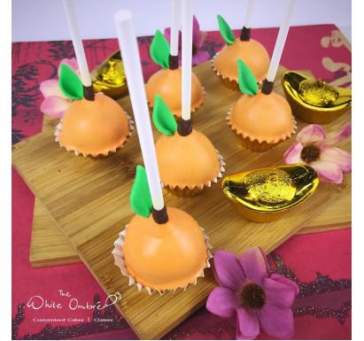 Mandarin Orange Cakepops