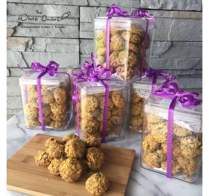 Raisin Sesame & Cornflakes Cookies