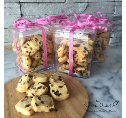 Vanilla & Mixed Fruit Cookies