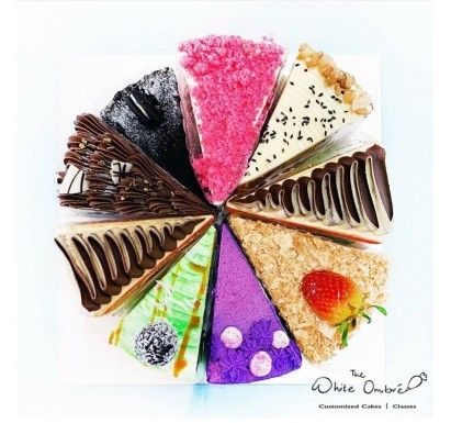 Signature Cake Wheel Sampler