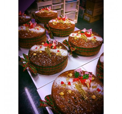 Christmas Rum Fruit Cakes