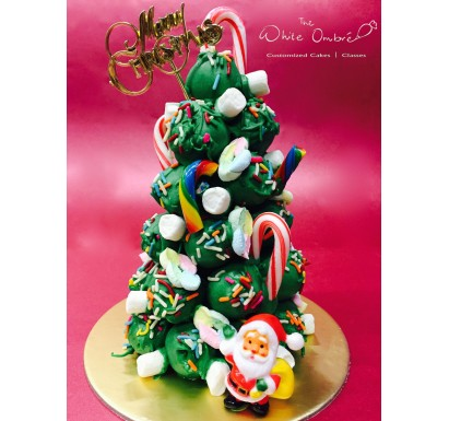 Christmas Mini Cake Pop Tree