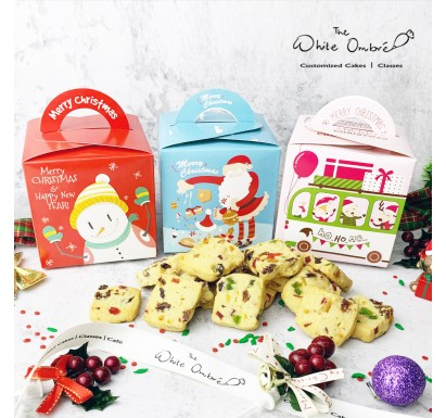 Christmas Cookies Gift Boxes - Set of 6