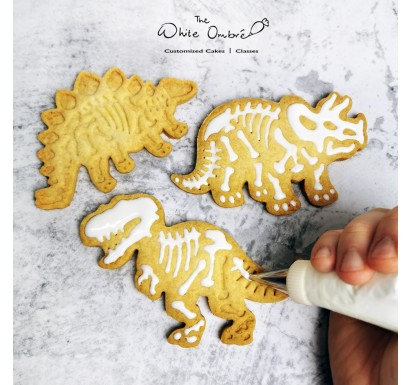 DIY Dinosaur Cookie Decorating Set - 6pc