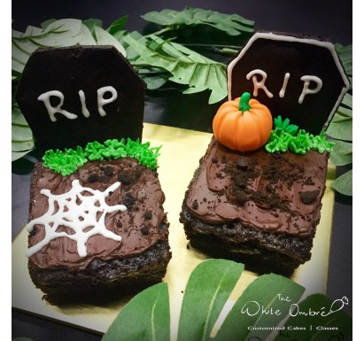 Tombstone Brownie