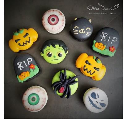 10pc Halloween Macaron Set
