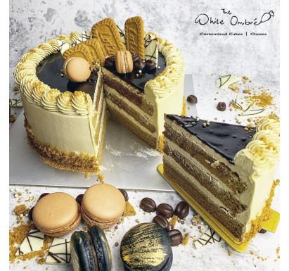Coffee Biscoff Cake