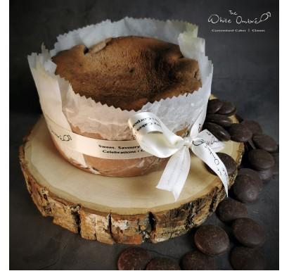Valrhona Dark Chocolate Brown Sugar Burnt Cheesecake