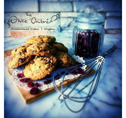 Oatmeal Cranberry Lactation Cookies