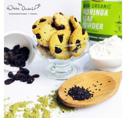 Black Sesame Raisin & Moringa Lactation Cookies