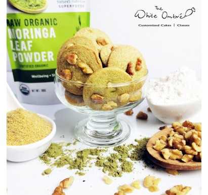 Moringa Walnut Lactation Cookies