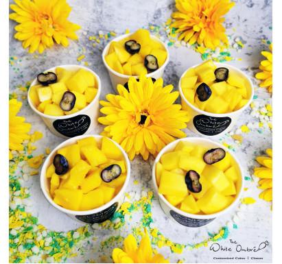 EGGLESS & SUGARFREE Chilled Mango Lactation Cheesecups Box of 4