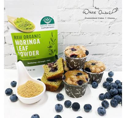 Moringa Blueberry Streusal Lactation Muffins