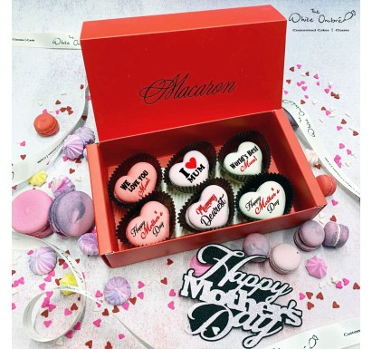 6pc Mother's Day Macarons Gift Set