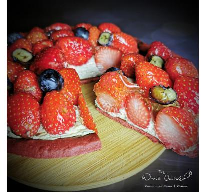 Earl Grey Strawberry Tart