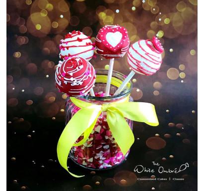 Valentine Cakepops