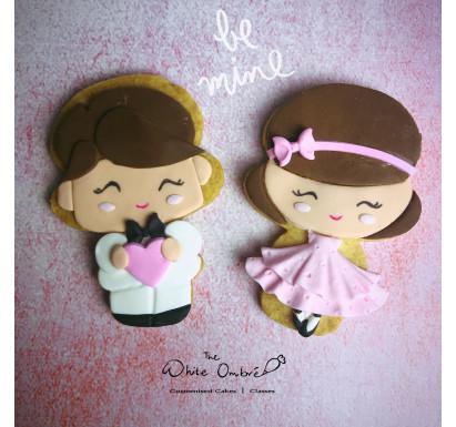 """Be My Valentine"" Cookies"