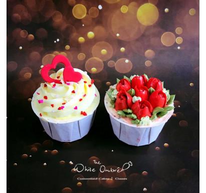 2pc Valentine's Cupcake Set