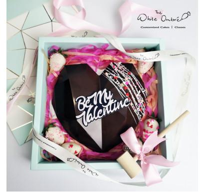 Dark Chocolate Smash Heart