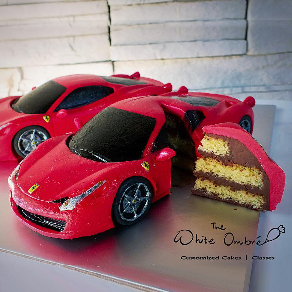 Vehicle Themed Cakes